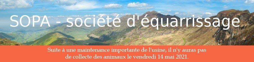 Sopa – Société d'équarrissage dans le Cantal